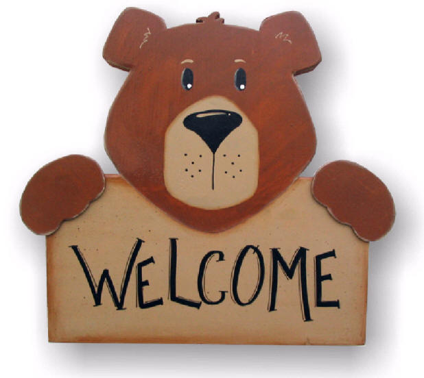 WELCOME BEAR5642 ! Welcome-bear